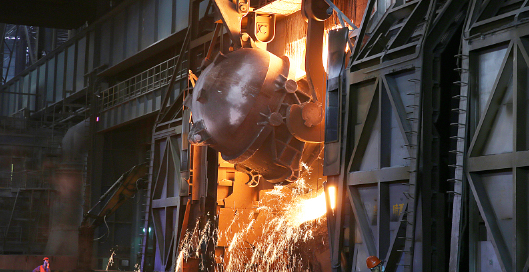 Magnesia chrome brick production process